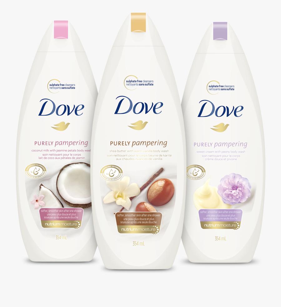 Dove Body Wash Canada , Free Transparent Clipart.
