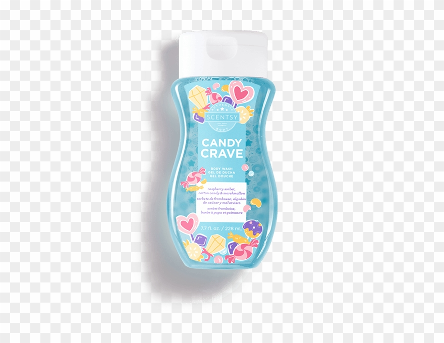 Candy Crave Body Wash Image.