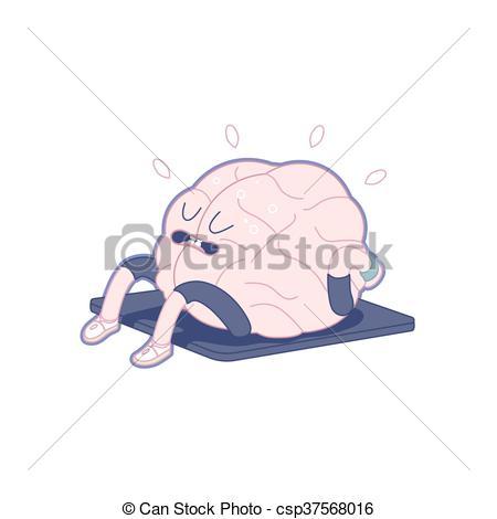 Clipart brain body.