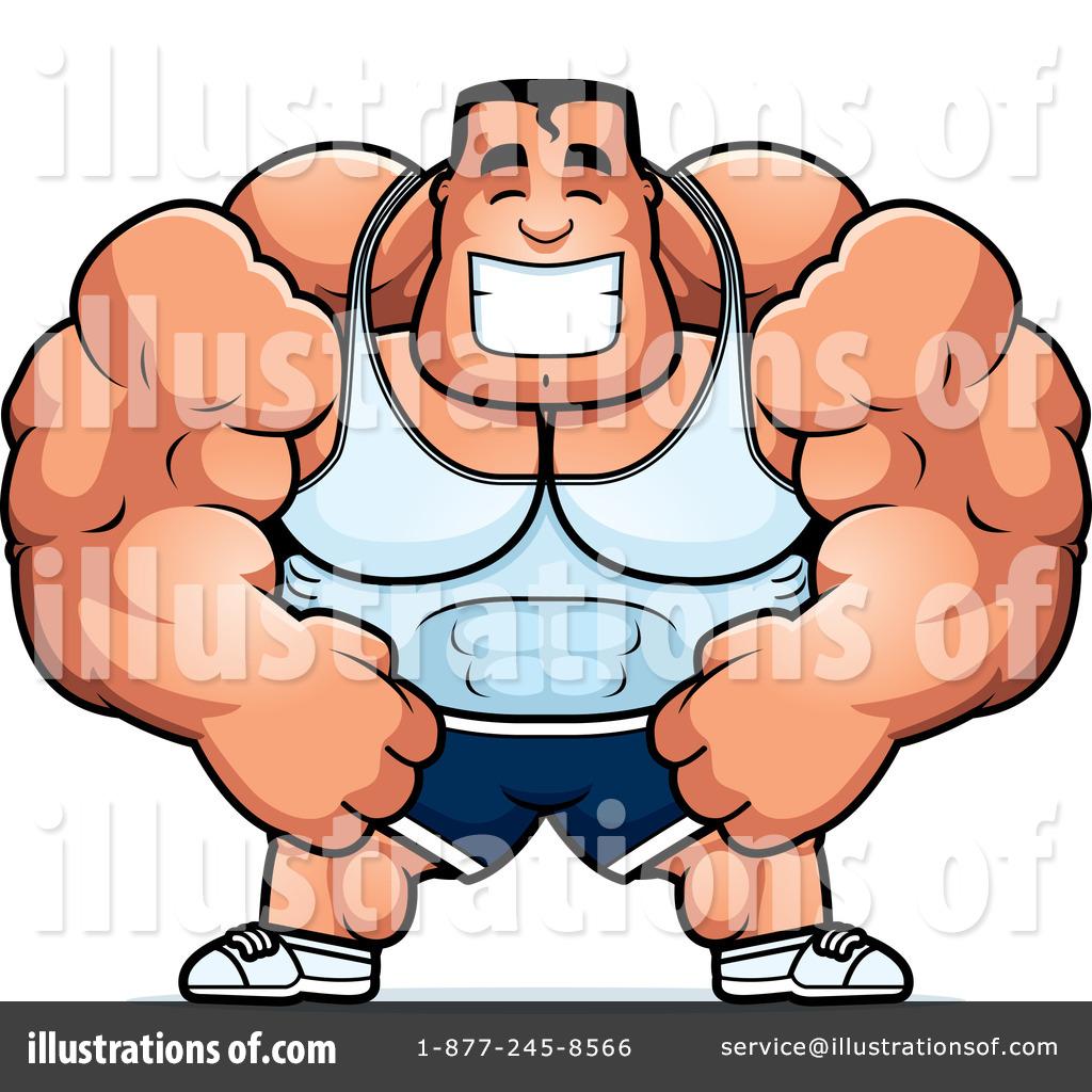 Bodybuilder Clipart #1108420.