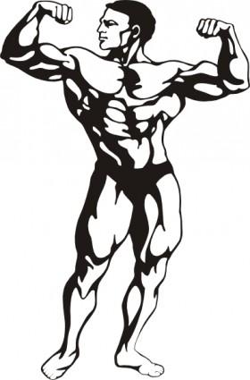 Body Builder Clip Art & Body Builder Clip Art Clip Art Images.