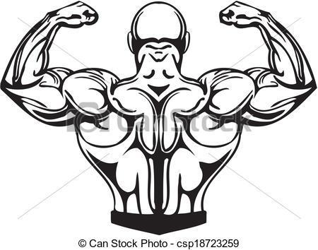 Bodybuilder clipart png 3 » Clipart Portal.