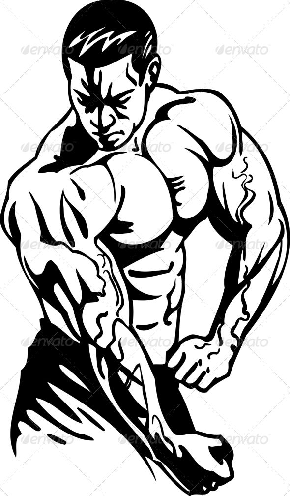 Collection of Bodybuilding clipart.