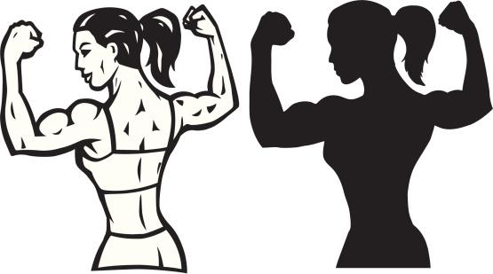Free Female Bodybuilder Cliparts, Download Free Clip Art, Free Clip.