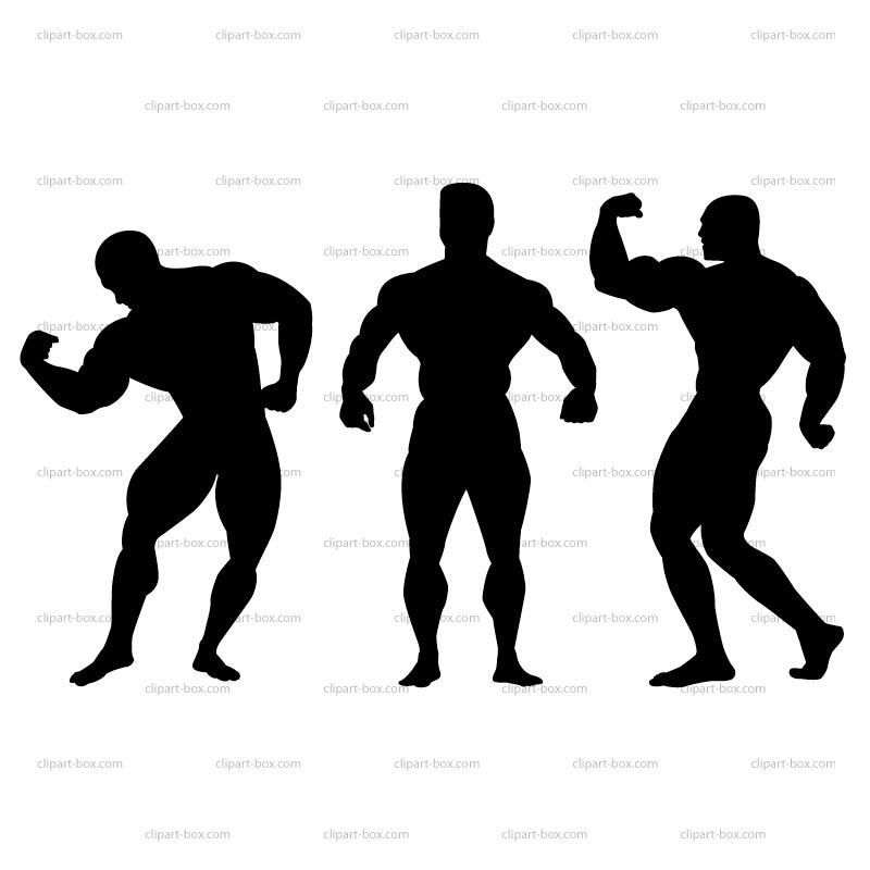 Bodybuilder clipart - ...