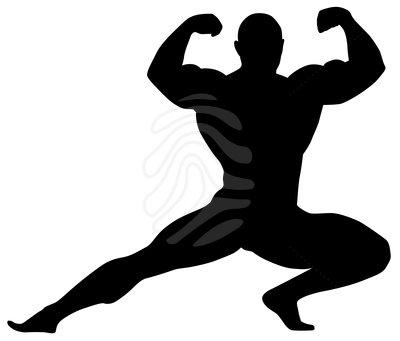 body builder clipart #17