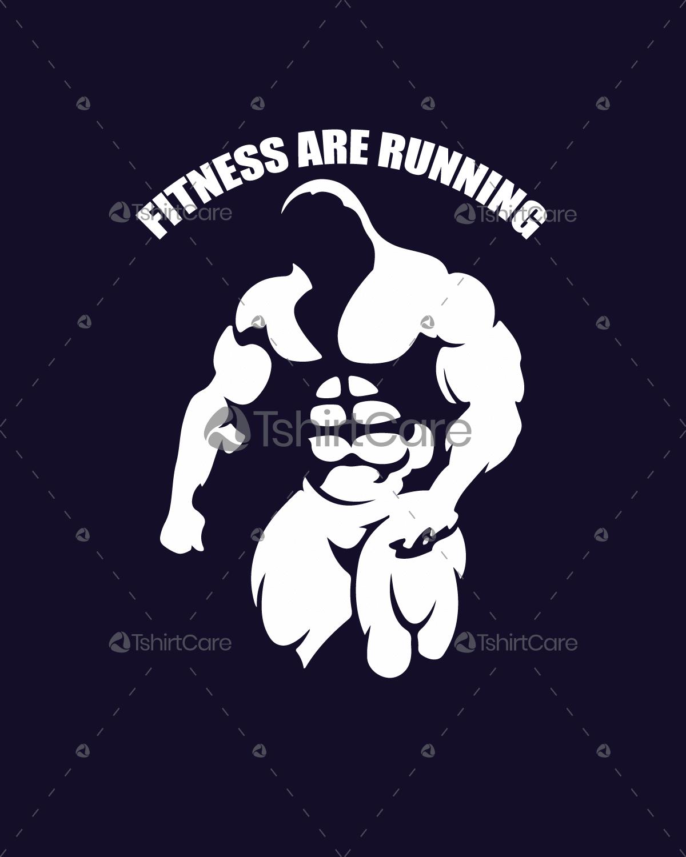 Bodybuilder Gym Fitness T shirt Design for Fitness Men & Women T.