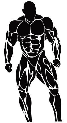 29 Best bodybuilding logo images.