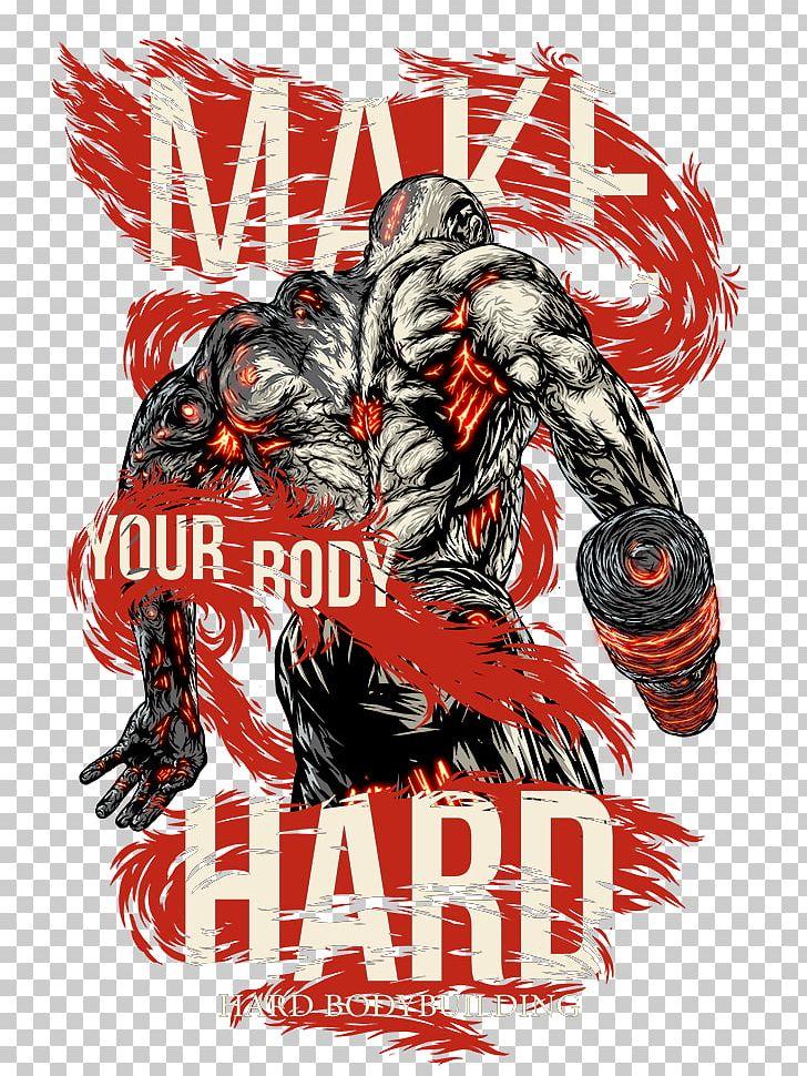 Female Bodybuilding Logo Art Graphic Design PNG, Clipart, Art.