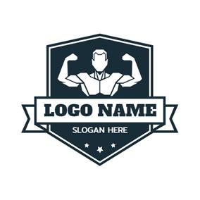 Free Bodybuilding Logo Designs.