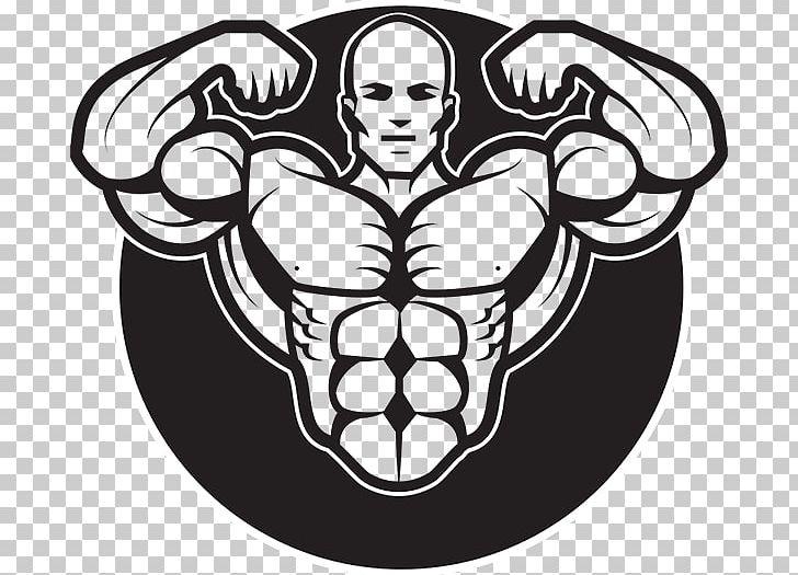 Bodybuilding Graphics Logo Graphic Design PNG, Clipart, Art, Black.