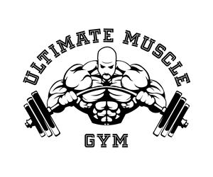 Logo design for bodybuilding gym in the UK Bold, Serious Logo Design.