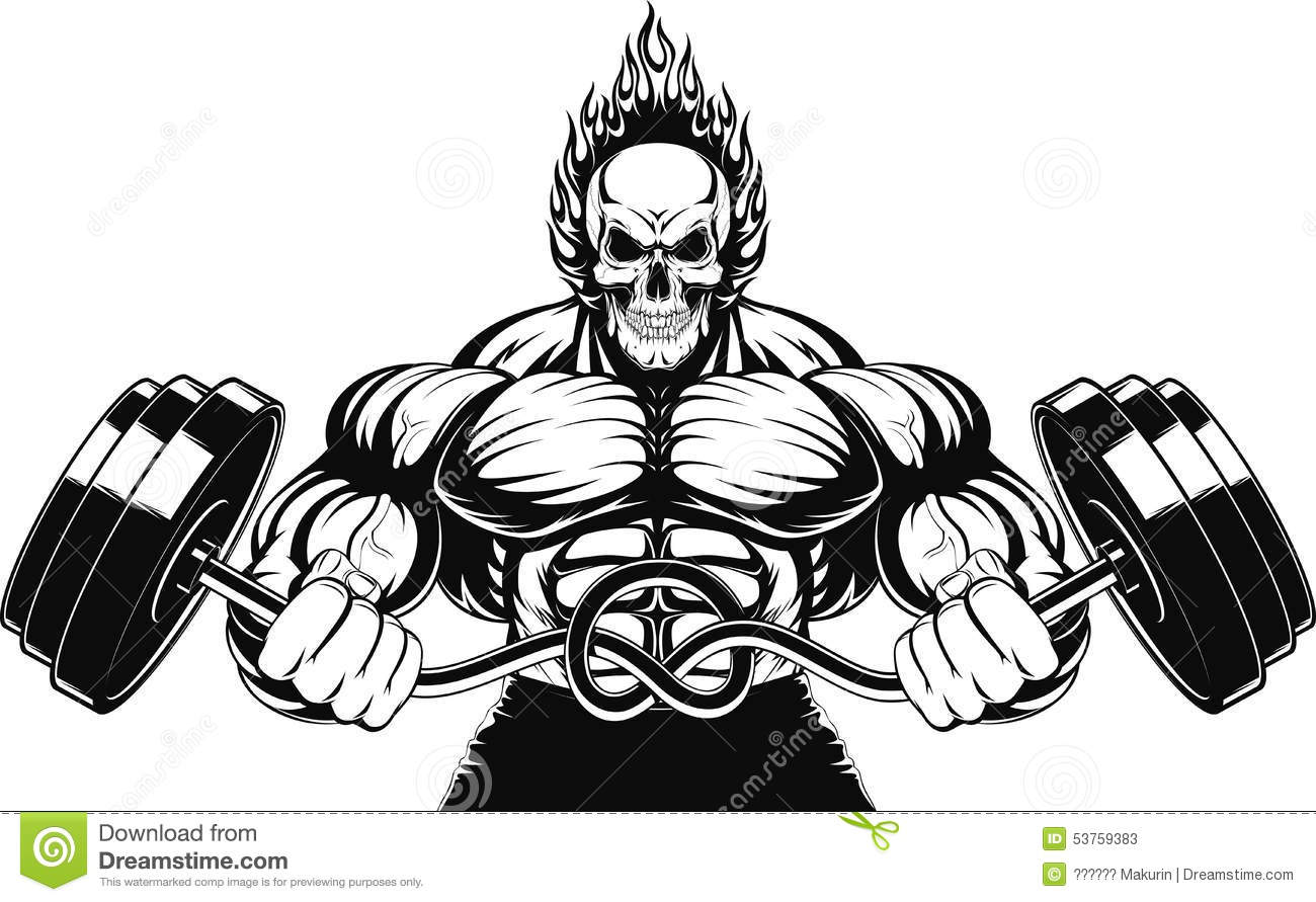 Bodybuilders clipart 4 » Clipart Station.
