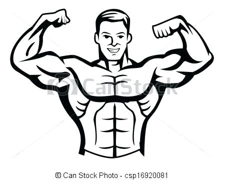 Bodybuilders clipart » Clipart Station.