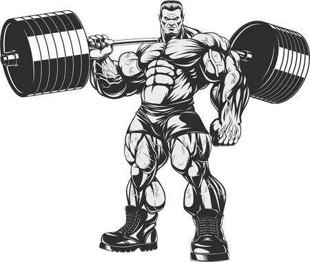 2,239 Masculine Bodybuilding Stock Illustrations, Cliparts And.