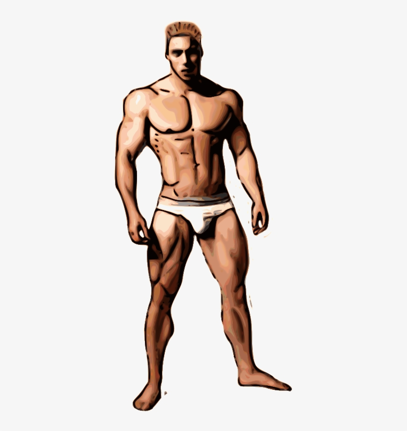 Bodybuilders Clipart Png Transparent PNG.