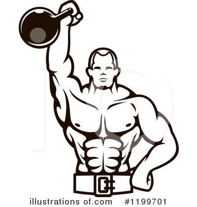 Bodybuilder Clipart #1199701.