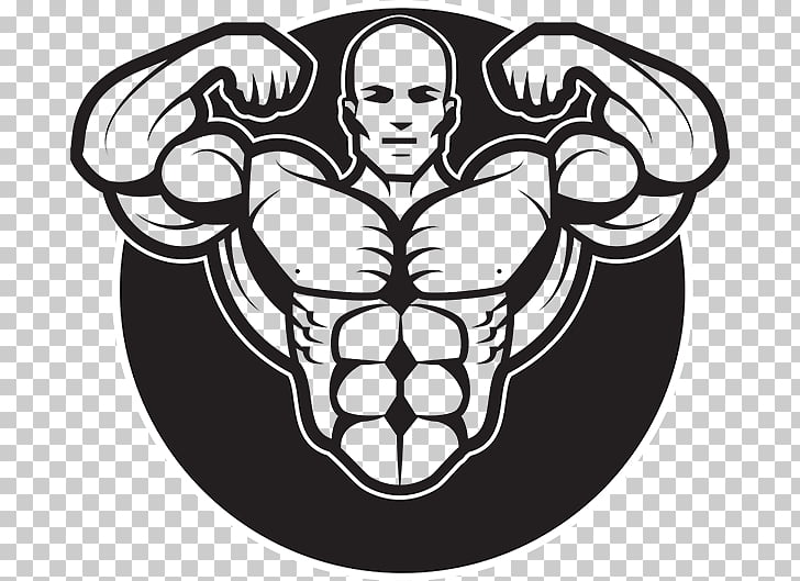 Bodybuilding graphics Logo Graphic design, bodybuilding PNG.
