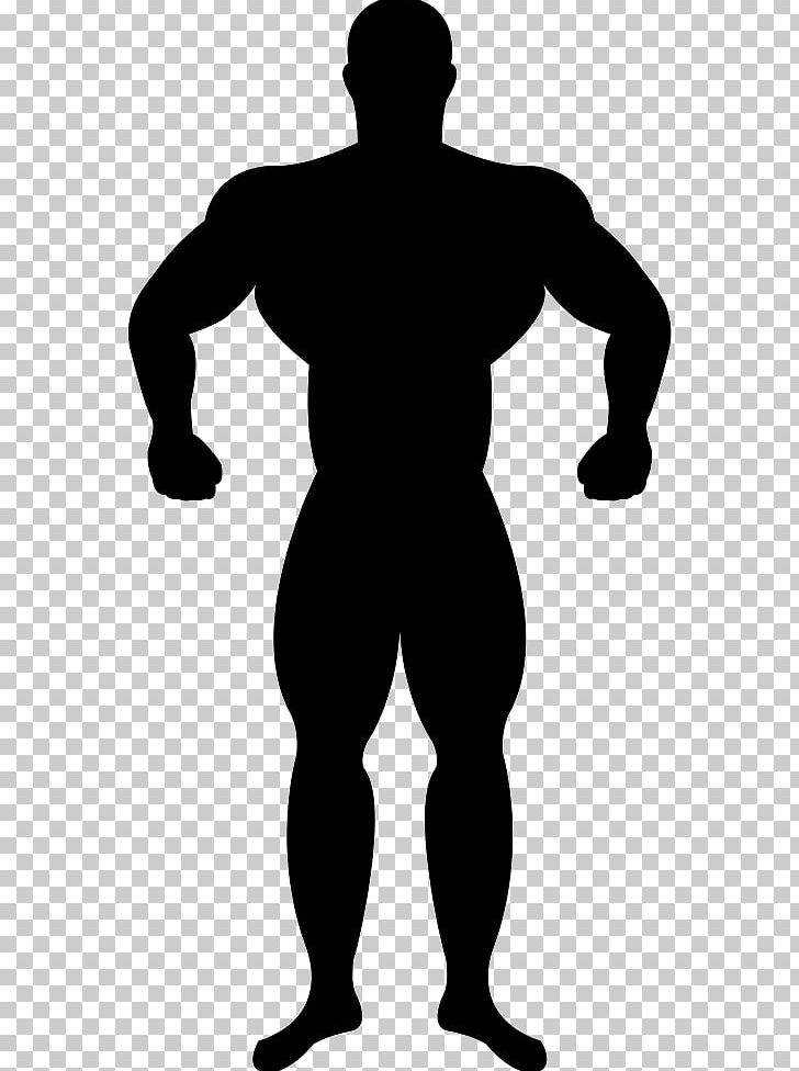 Muscle Silhouette Bodybuilding PNG, Clipart, Animals, Arm.