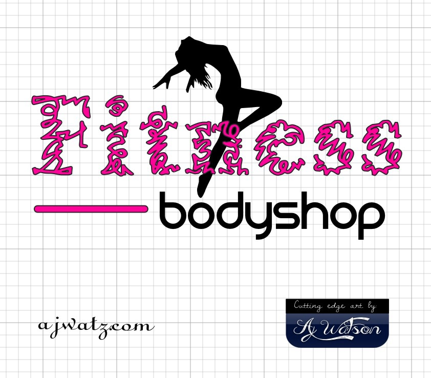 Bold, Serious, Fitness Logo Design for Fitness Bodyshop by.