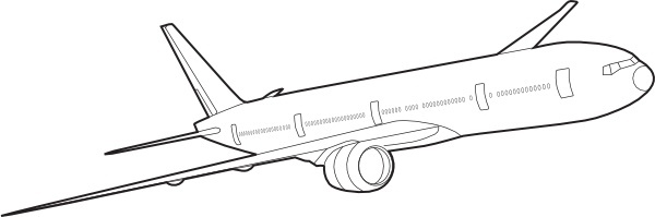 Boeing 737 clipart Clipground