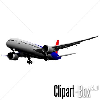 CLIPART BOEING 787 DREAMLINER.