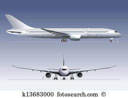 Boeing Clip Art and Illustration. 240 boeing clipart vector EPS.