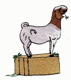 boer goat clip art.