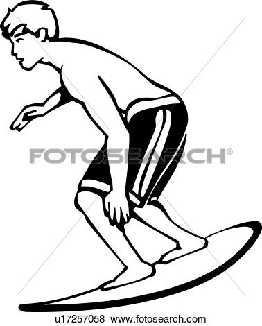 Clip Art of Boogie Board u17257058.