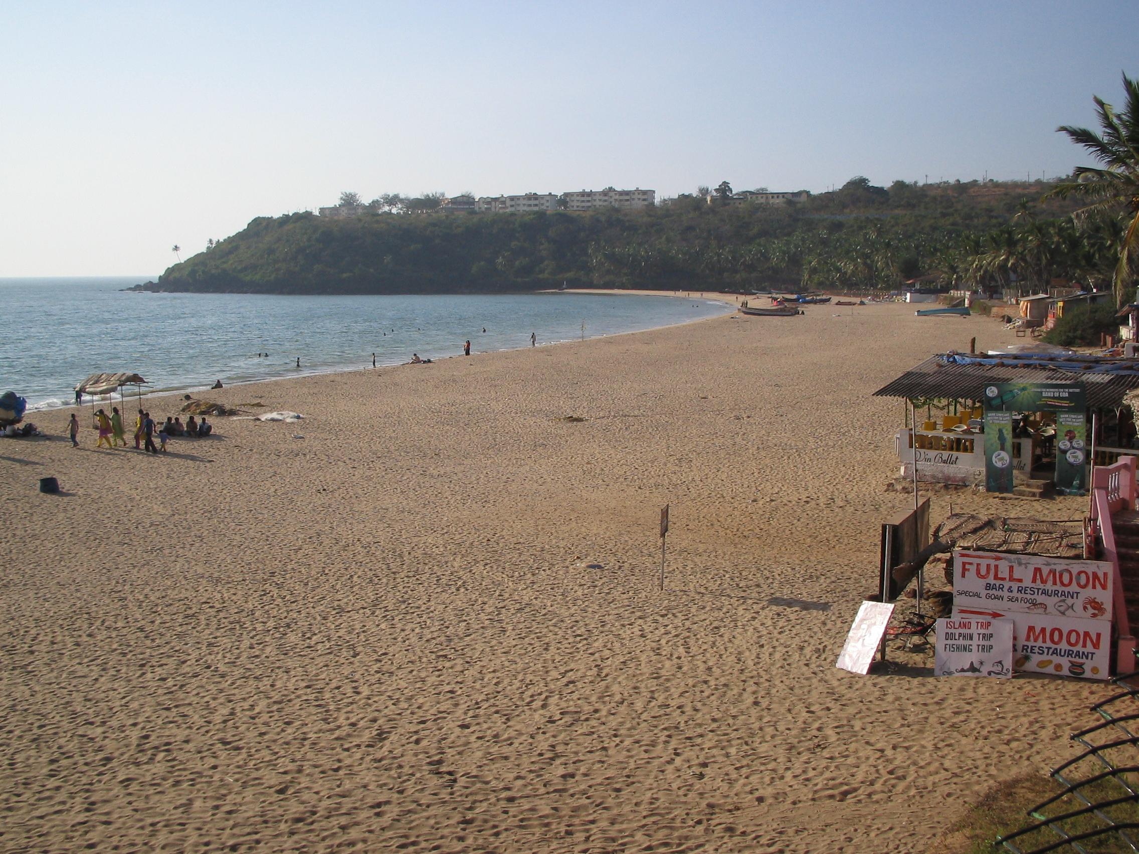 Bogmalo Beach.