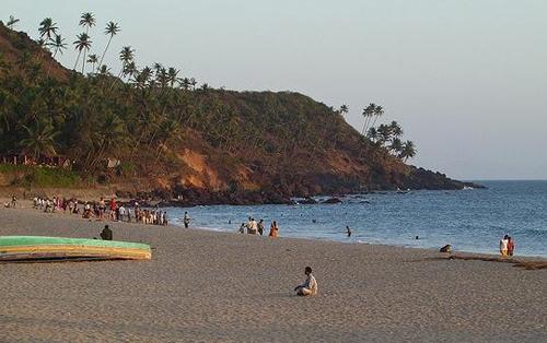 Bogmalo Beach Goa.