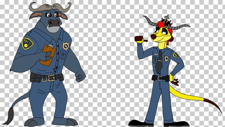 Chief Bogo Officer Clawhauser Character Honey Lemon Meerkat.