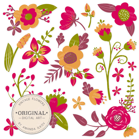Free Bohemian Flower Cliparts, Download Free Clip Art, Free.