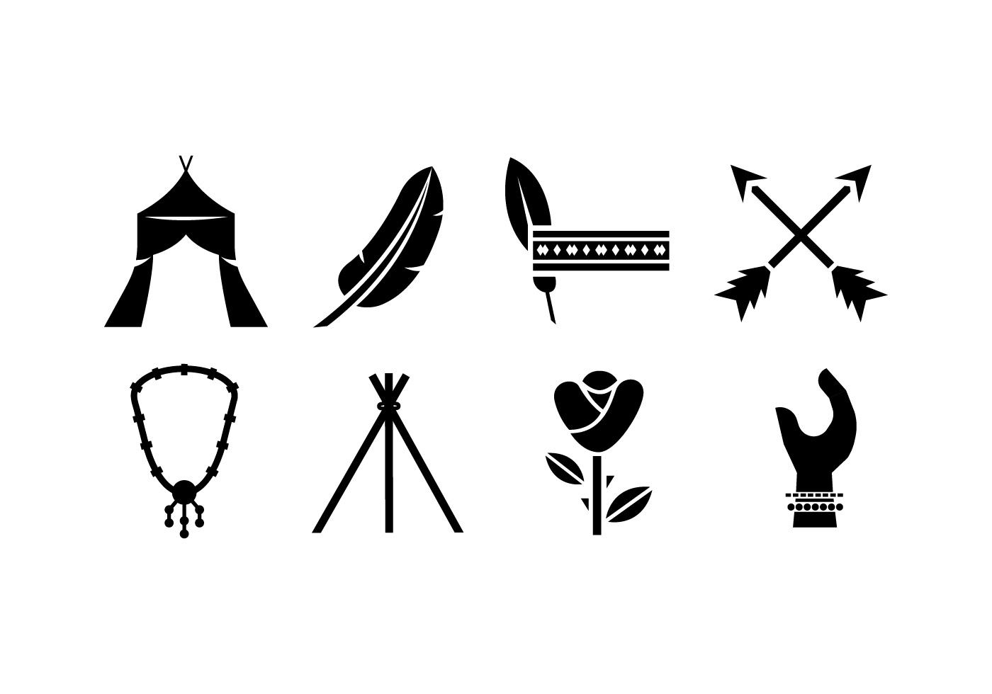 Bohemian Logo Free Vector Art.