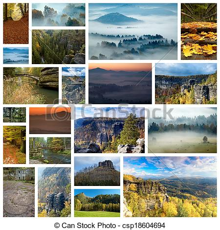 Stock Photographs of Bohemian Switzerland.