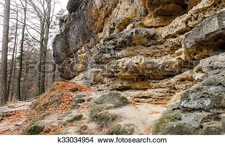 Stock Photo of Stone in Bohemian switzerland k33034954.