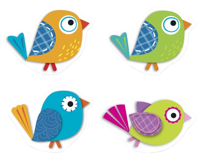 Boho birds clipart 4 » Clipart Station.