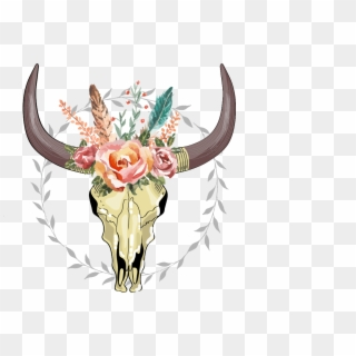Free Cow Skull Png Transparent Images.