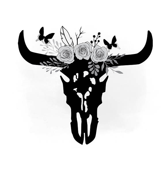 184 Cow Skull free clipart.