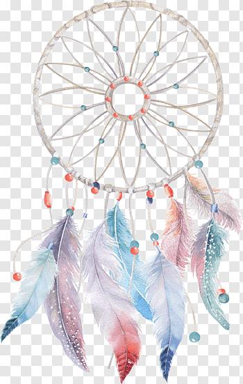 Boho Dreamcatcher cutout PNG & clipart images.