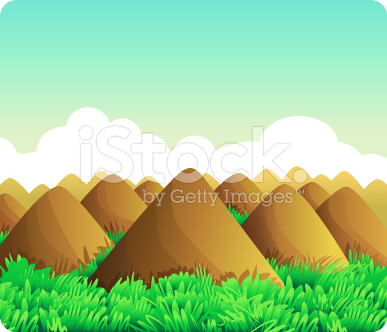 Chocolate hills clipart.
