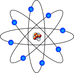 Niels Bohr Atomic Theory Chemistry Clipart.