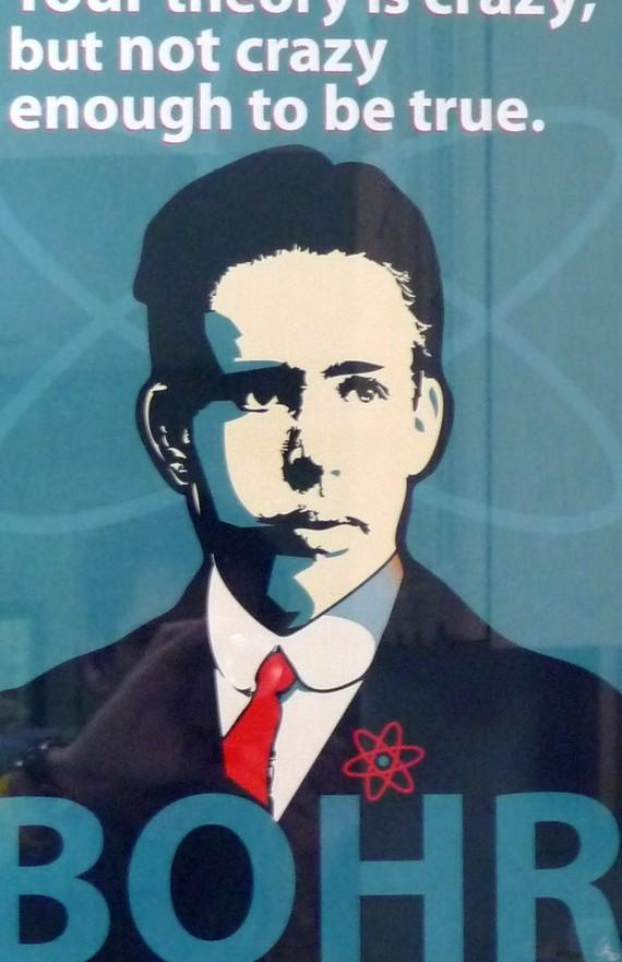 Niels Bohr Print 11x17 Famous Seniors by senioritis on Etsy.