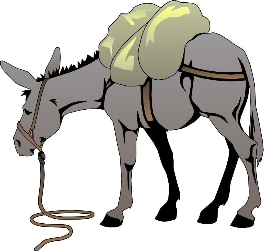 Clip Art Donkey.