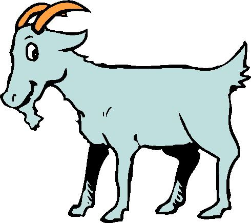 cartoon clip art goat.