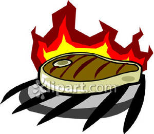 Cooked beef clipart.
