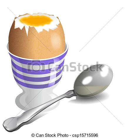Boiled egg Clipart and Stock Illustrations. 1,441 Boiled egg.
