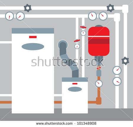 Boiler room clipart #10