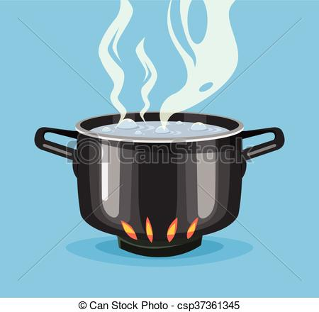Boiling water clipart #19