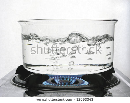 Boiling water column clipart #6